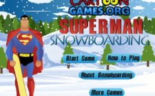 superman snowboard
