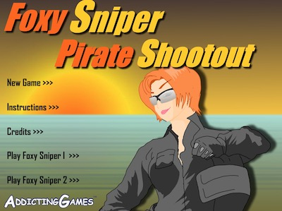 Foxy Sniper Pirate Shootout