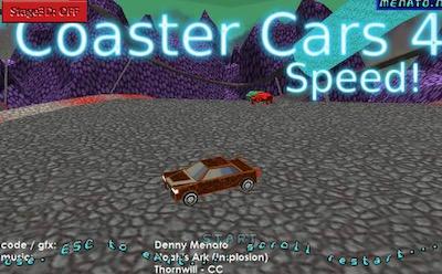 Coaster Cars 4 Speed