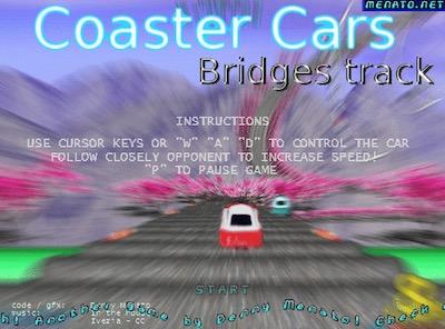 Coaster Cars Bridges Track
