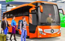 Uphill Coach Bus